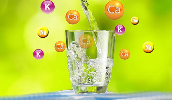 Nước được bổ sung các khoáng chất có lợi cho cơ thể