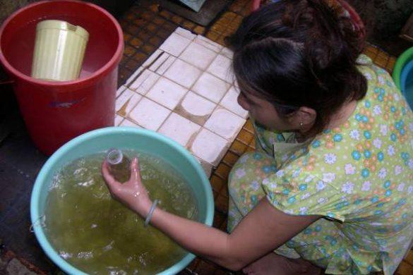 Nước ngầm ô nhiễm Amoni