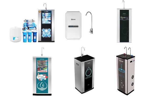 Top giá 10 sản phẩm máy lọc nước bán chạy nhất 2018