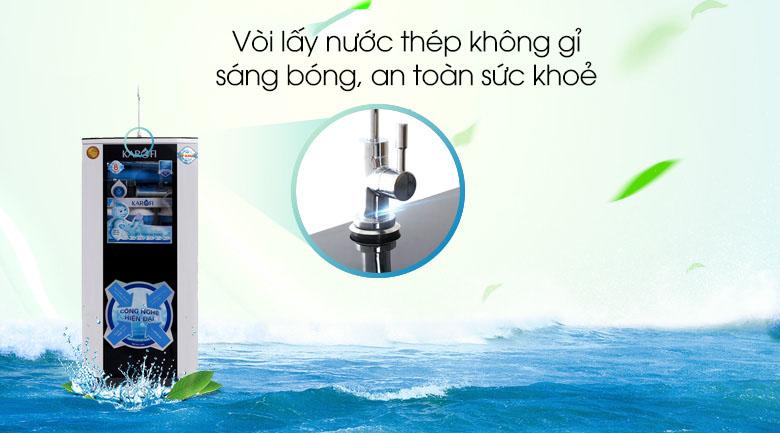 Máy lọc nước RO Karofi KSI80-A 8 lõi,