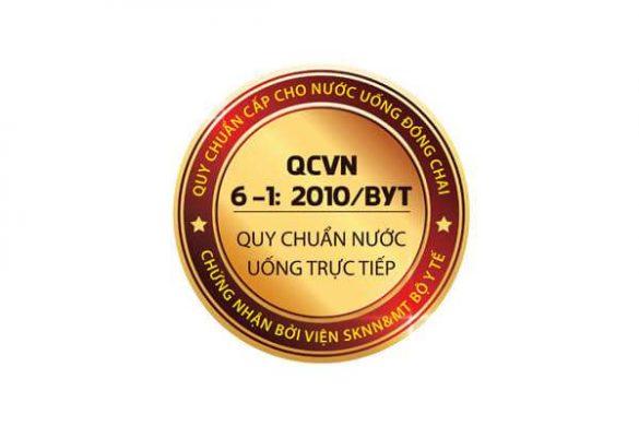Chứng nhận chuẩn nước uống trực tiếp QCVN 6-1 trên máy lọc nước RO karofi